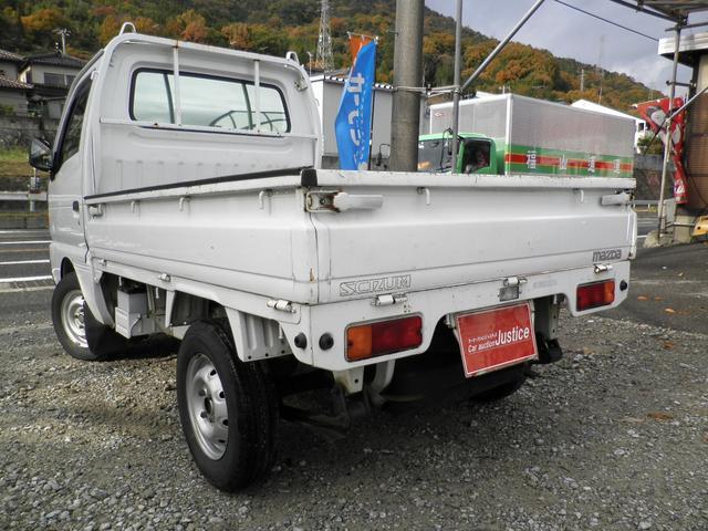 マツダ スクラムトラック KUトラック ディーラー車 5MT  エアコン 3方開