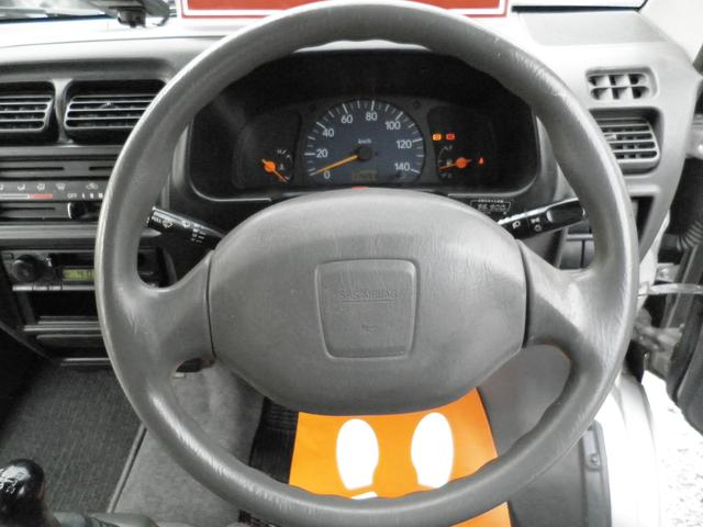 マツダ スクラムワゴン スタンドオフターボ4WD5MTディーラー車TチェーンETC