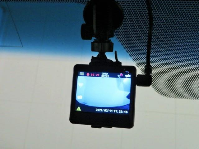 ドライブ中のアクシデントの強い味方。ドライブレコーダーを装備!!