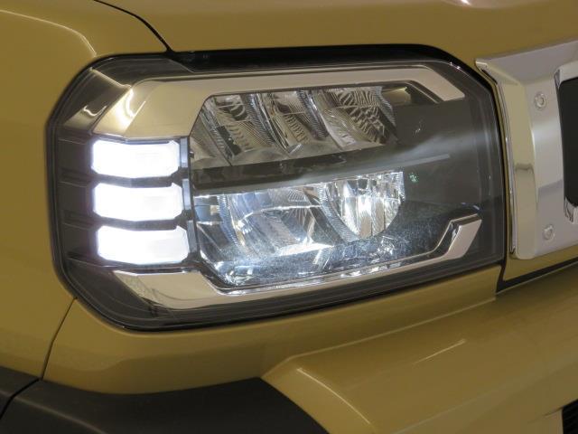 LEDヘッドランプシステム採用で、省電力の明るいヘッドランプです。