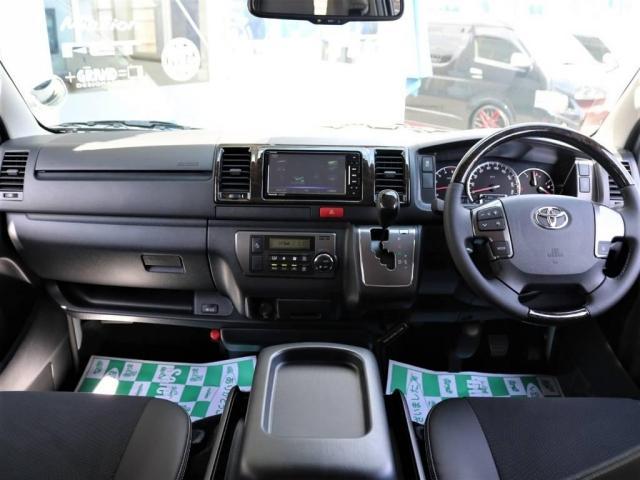 トヨタ ハイエースバン 2.8 スーパーGL ロング ディーゼルターボ 新型 TSS