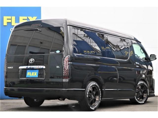 GL 買取直販 4型ワゴンGL ワンオーナー ガソリン 2WD 希少内装架装 ベッドキット 1.5インチローダウン 17インチアルミホイール ナビ フリップダウンモニター バックカメラ ETC(2枚目)