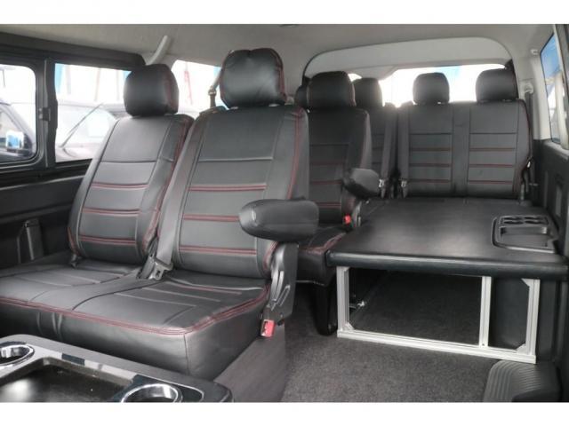 GL 買取直販 4型ワゴンGL ワンオーナー ガソリン 2WD 希少内装架装 ベッドキット 1.5インチローダウン 17インチアルミホイール ナビ フリップダウンモニター バックカメラ ETC(14枚目)