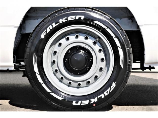 スーパーGL ダークプライムII アウトドアパッケージ ダークプライムII ディーゼル 2WD トヨタセーフティセンス フロントバンパースポイラー 16インチアルミホイール リーガルフェンダー LEDテールランプ ナビ ETC(8枚目)