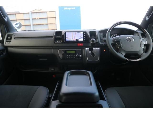 スーパーGL ダークプライムII アウトドアパッケージ ダークプライムII ディーゼル 2WD トヨタセーフティセンス フロントバンパースポイラー 16インチアルミホイール リーガルフェンダー LEDテールランプ ナビ ETC(11枚目)