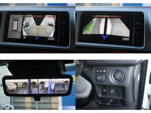 GL ロング VER.1 FLEX+JAOSコンプリートカー トヨタセーフティセンス バッドフェイスボンネット 16インチアルミホイール ナビ フリップダウンモニター バックカメラ ETC ベッドキット(19枚目)