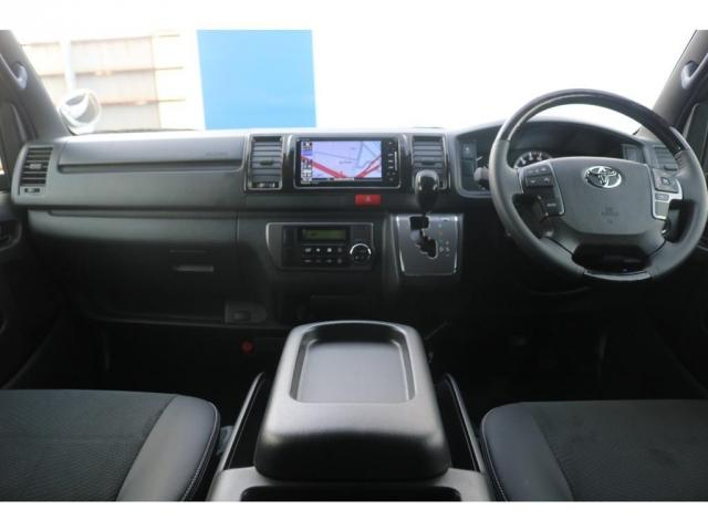 買取直販 6型 ダークプライムII ディーゼル 2WD ローダウン 17インチアルミホイール マフラーカッター ナビ バックカメラ ETC ロッドホルダー エンジンフードカバー 3Dラバーマット(10枚目)