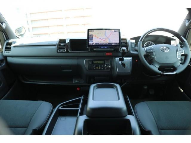 スーパーGL ダークプライムII 新車 ダークプライムII トヨタセーフティセンス 両側パワースライドドア パノラミックビューモニター デジタルインナーミラー インテリジェントクリアランスソナー 寒冷地仕様 ミラーヒーター 100V(12枚目)