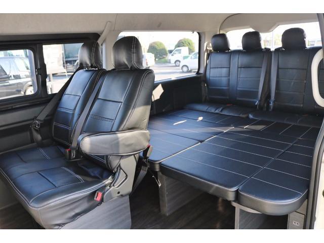 トヨタ ハイエースワゴン GL オリジナル室内架装車 自動ドア 17AW