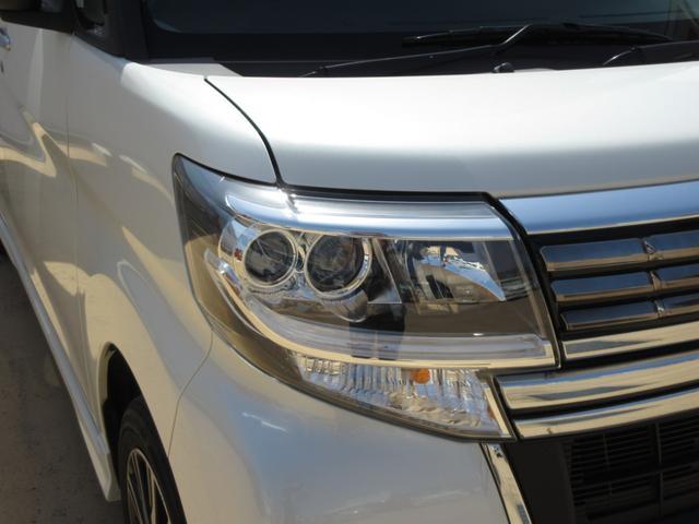 カスタムX トップエディションリミテッドSAIII ワンオーナー LEDヘッドライト 禁煙車 ナビ ドライブレコーダー 両側パワースライドドア プッシュボタンスタート スマートキー オートライト 純正アルミ 衝突回避支援システム搭載 フォグランプ(4枚目)
