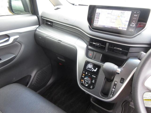 カスタム X SAII ワンオーナー 禁煙車 記録簿 LEDヘッドライト 衝突回避支援システム搭載車 ナビ プッシュボタンスタート オートライト スマートキー 純正アルミ(16枚目)