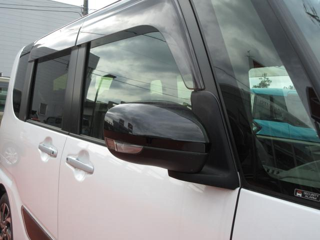 カスタムX ツートンカラー 次世代スマートアシスト 両側パワースライドドア LEDヘッドライト オートライト スマートキー プッシュボタンスタート LEDフォグランプ レーンアシスト オートマチックハイビーム車(11枚目)
