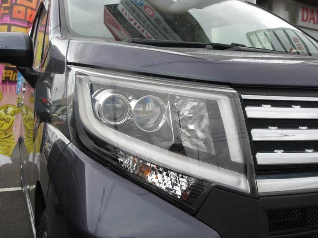 カスタム X ワンオーナー LEDヘッドライト プッシュボタンスタート スマートキー オートライト 純正アルミ  CDデッキ(7枚目)