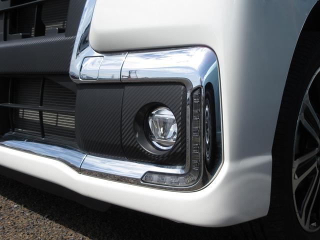 カスタムRS トップエディションSAIII 4WD ワンオーナー LEDヘッドライト スマートキー プッシュボタンスタート オートライト ターボ 禁煙車 両側パワースライドドア 8インチナビ ドライブレコーダー フォグランプ レーンアシスト(6枚目)
