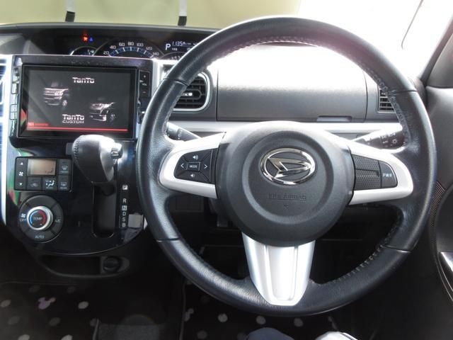 カスタムRS トップエディションSAIII 4WD ワンオーナー LEDヘッドライト スマートキー プッシュボタンスタート オートライト ターボ 禁煙車 両側パワースライドドア 8インチナビ ドライブレコーダー フォグランプ レーンアシスト(11枚目)