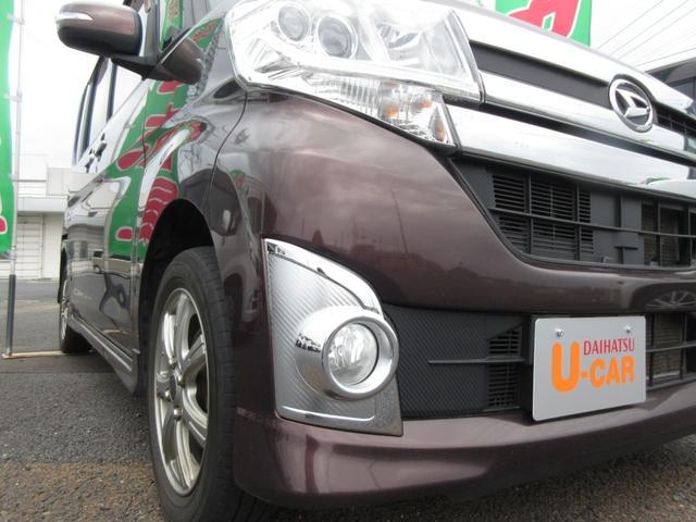 カスタムX ワンオーナー LEDヘッドライト 禁煙車 ドライブレコーダー 両側パワースライドドア CDデッキ プッシュボタンスタート スマートキー オートライト(4枚目)