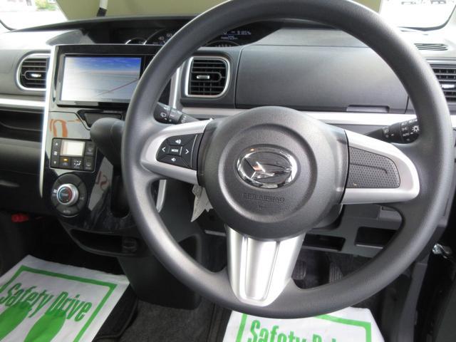 カスタムX トップエディションSAII 4WD ワンオーナー LEDヘッドライト ナビ プッシュボタンスタート スマートキー オートライト フォグランプ レーンアシスト 左側パワースライドドア  純正アルミ(13枚目)