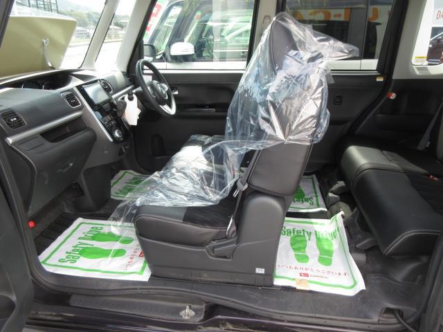 カスタムX トップエディションSAII 4WD ワンオーナー LEDヘッドライト ナビ プッシュボタンスタート スマートキー オートライト フォグランプ レーンアシスト 左側パワースライドドア  純正アルミ(21枚目)