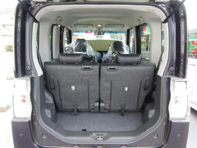 カスタムX トップエディションSAII 4WD ワンオーナー LEDヘッドライト ナビ プッシュボタンスタート スマートキー オートライト フォグランプ レーンアシスト 左側パワースライドドア  純正アルミ(24枚目)