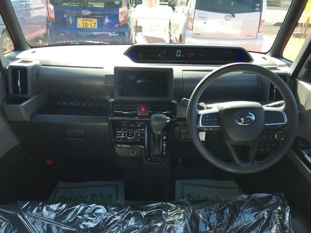 カスタムX 4WD 次世代スマートアシスト 両側パワースライドドア LEDヘッドライト 純正アルミ スマートキー プッシュボタンスタート オートライト(18枚目)