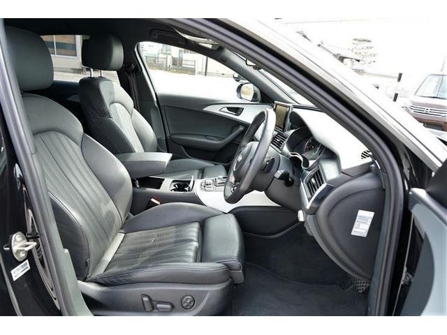 高級車にふさわしい上質なブラックレザーシートを装備しております。運転席パワーシート装備☆寒い季節に役立つシートヒーター装備☆シートコンディションよ良好です☆
