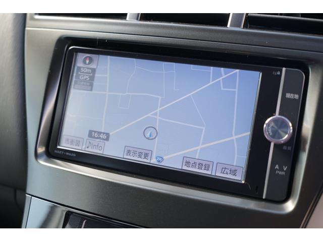 トヨタ純正SDナビゲーション(NSZT-W62G)装備☆地上デジタルフルセグTV・DVDビデオ・SD録音機能・Bluetooth接続対応☆