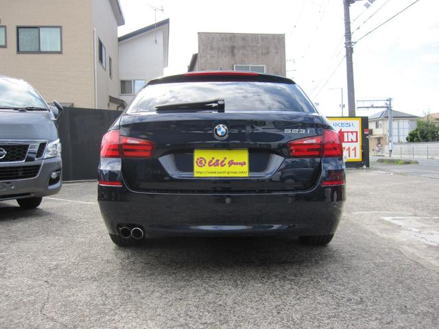 BMW BMW 523iツーリングベージュ皮シート年間走行距離無制限保証付