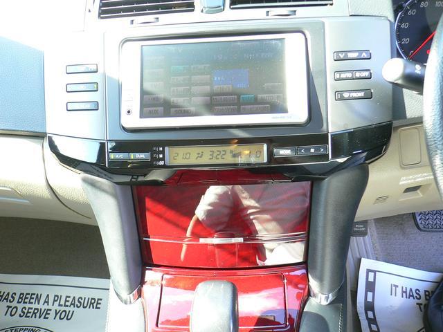 トヨタ マークX 250G Fパッケージナビバックモニター