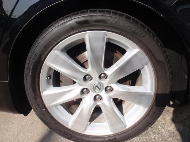 純正19インチアルミホイール・タイヤの溝もしっかりあります!!
