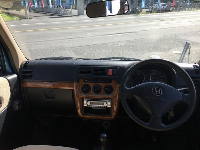 ホンダ バモス L 4WD CD パワステ パワーウインド 純正アルミ