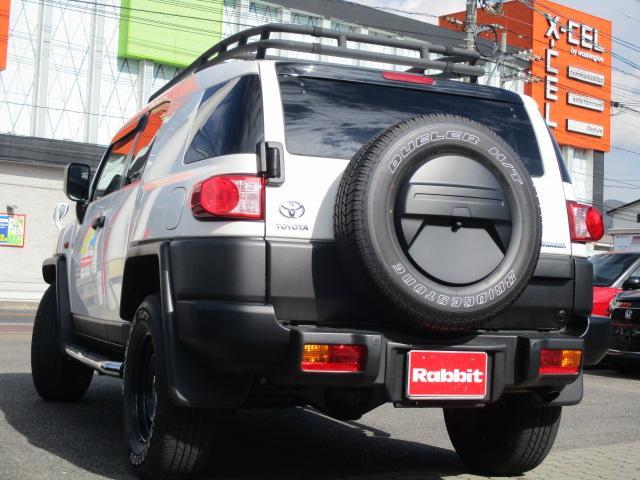 トヨタ FJクルーザー カラーパッケージ ワンオーナー ルーフキャリア ナビ 地デジ