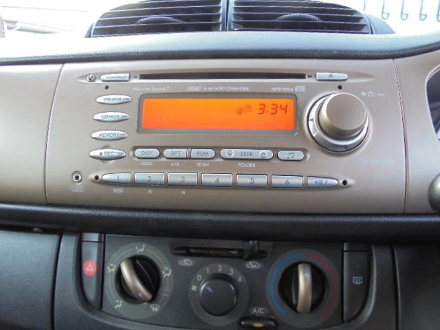スバル ステラ リベスタ キーレス 純正録音機能付きCDコンポ