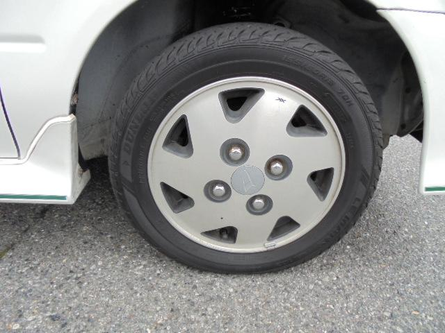 純正アルミ タイヤもまだまだ使えます