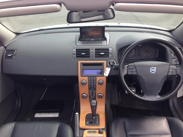 ボルボ ボルボ C70 2.4i SE ブラックレザー フルセグHDDナビ キセノン