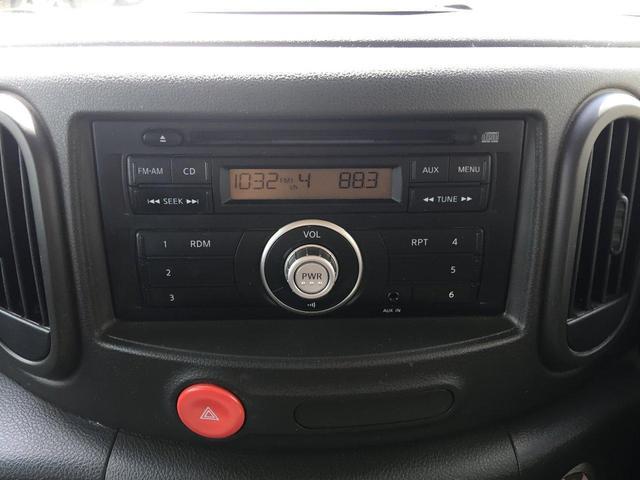 日産 キューブ 15X Mセレクション 純正CD スマートキー 2年間保証付