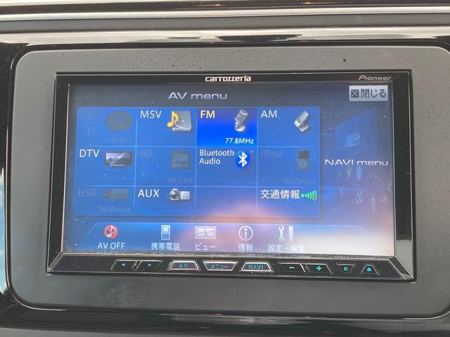 デザインレザーパッケージ TV ナビ 革シート AT AW オーディオ付 HID クルコン ETC AC(4枚目)