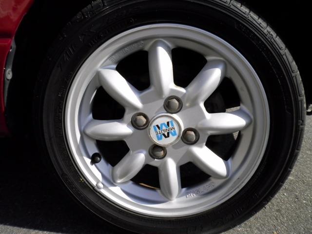 ダイハツ ミラジーノ ミニライトスペシャル タイミングベルト交換 新品タイヤ4本
