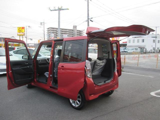 ハイウェイスター X 届出済未使用車 新品ワンセグSDナビ(12枚目)