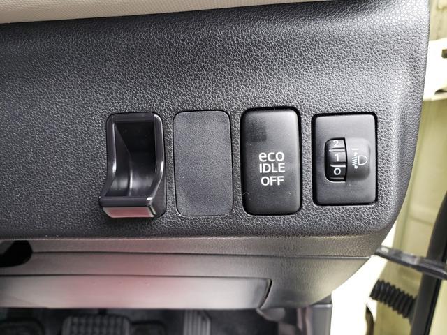 【アイドリングストップ】信号待ちなどの停車時に車のエンジンを停止させ、燃料を消費しないことで「燃費」と「環境」のことを考慮した機能です。