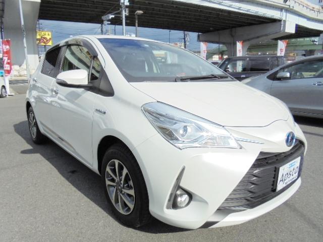 「トヨタ」「ヴィッツ」「コンパクトカー」「広島県」の中古車10