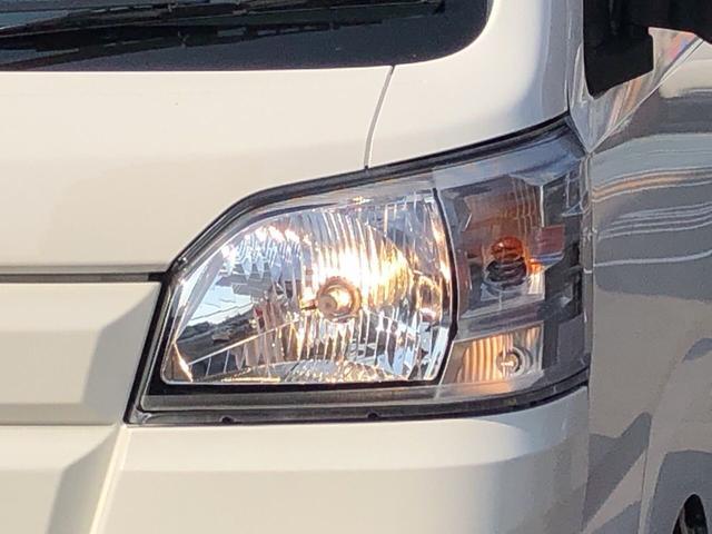 マニュアルレベライザー付きのヘッドライト