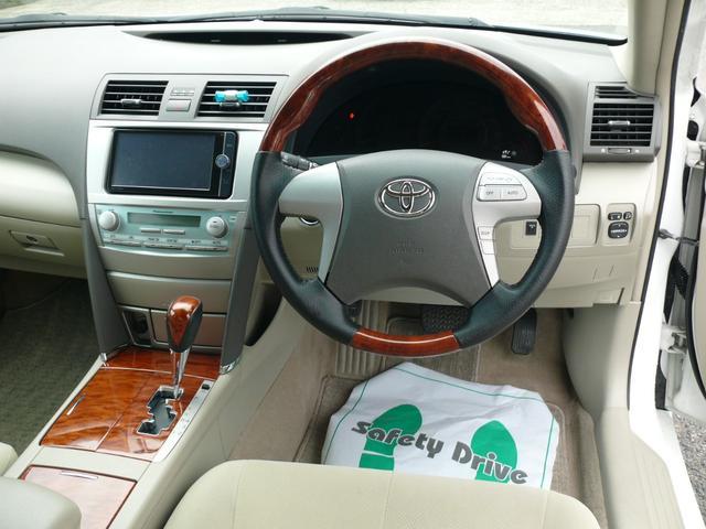 トヨタ カムリ G 車高調 18インチAW 純正ナビTV