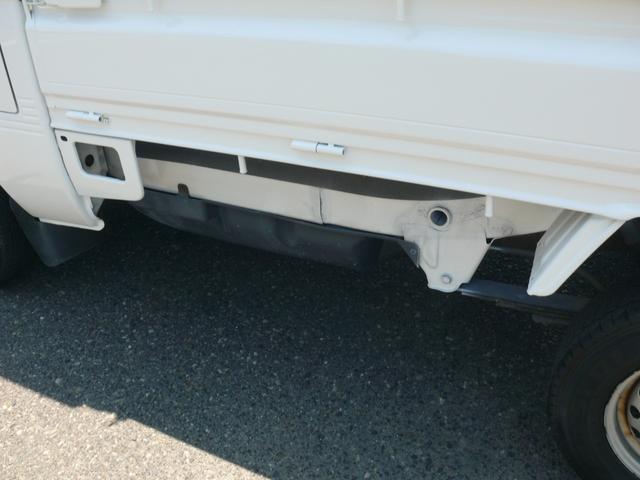 農用スペシャル パートタイム4WD エアコン パワステ 作業灯 全塗装済み テールゲートプロテクター タイミングチェーンエンジン(21枚目)