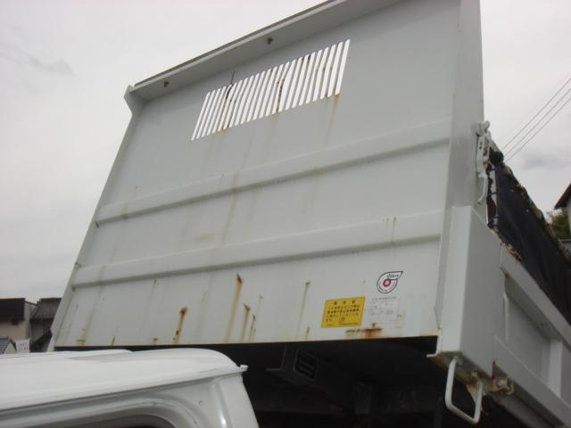 いすゞ エルフトラック 低床強化ダンプ