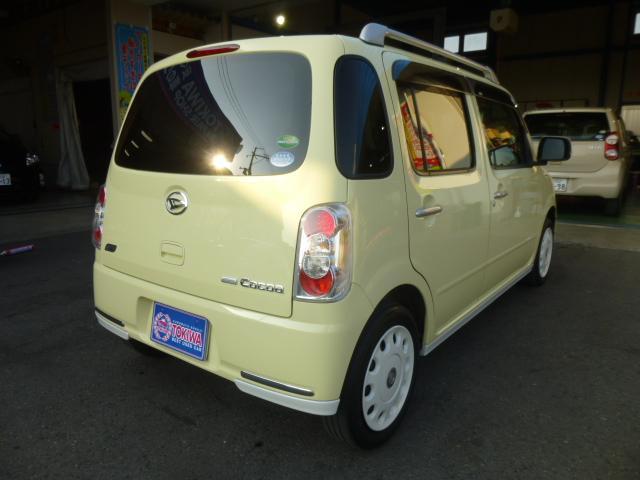 ダイハツ ミラココア ココアプラスX AT スマートキー CD グー鑑定車