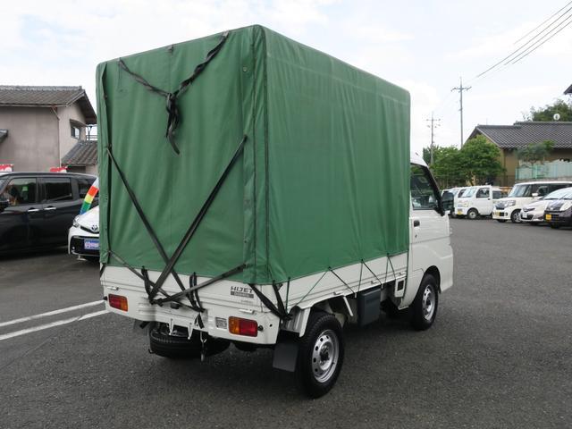エアコン・パワステ スペシャル 4WD エアコンパワステ ホロ車 5速MT スペアタイヤ付き ライトレベライザー 3カ月3000キロ自社保証(8枚目)
