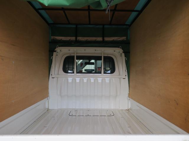 エアコン・パワステ スペシャル 4WD エアコンパワステ ホロ車 5速MT スペアタイヤ付き ライトレベライザー 3カ月3000キロ自社保証(17枚目)