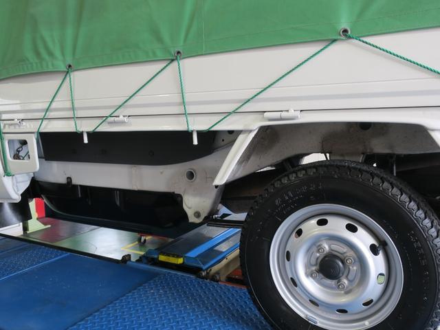 エアコン・パワステ スペシャル 4WD エアコンパワステ ホロ車 5速MT スペアタイヤ付き ライトレベライザー 3カ月3000キロ自社保証(25枚目)