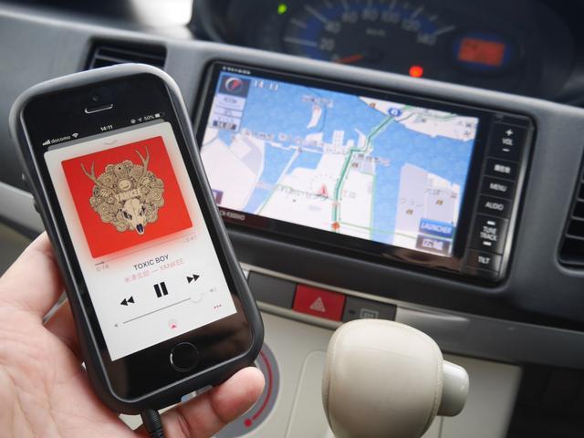 外部入力でお手持ちのスマートフォンや携帯音楽プレーヤーの音楽も聴けますよ。
