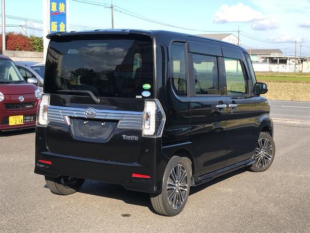 カスタムRS トップエディションSAIII ターボ車 両側電動スライドドア ナビ フルセグTV DVD再生 Bluetooth機能シートヒーター アイドリングストップ スマートキー(5枚目)